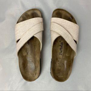 Birkenstock Betula two strap sandal size 40